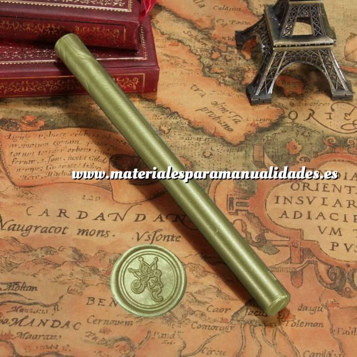 Imagen Barras para PISTOLA Barra Lacre 10mm Flexible pistola VERDE LIMA Brillante