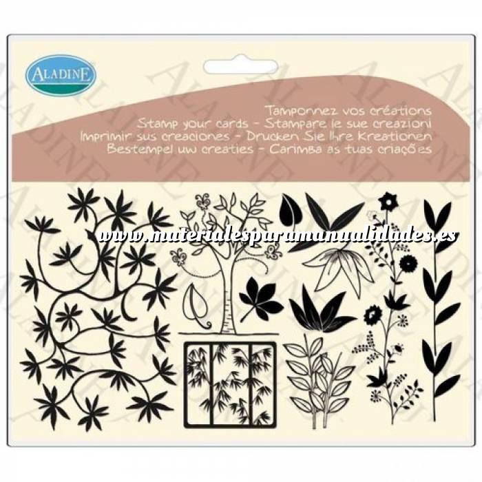 Imagen Diseños inmediatos Sellos árboles y hojas (Descatalogado) (ultimas uds) (Últimas Unidades)
