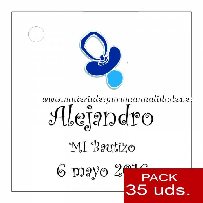 Imagen Etiquetas personalizadas Etiqueta Modelo B06 (Paquete de 35 etiquetas 4x4)