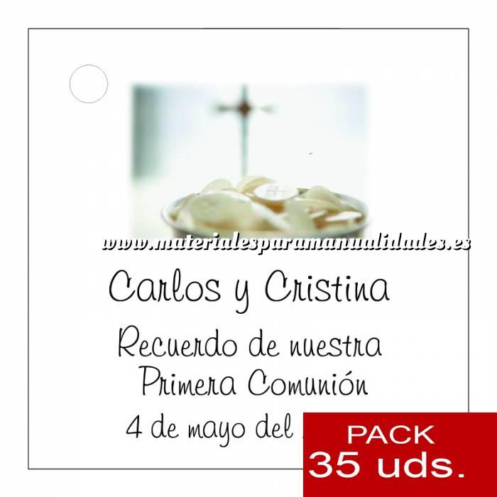 Imagen Etiquetas personalizadas Etiqueta Modelo C20 (Paquete de 35 etiquetas 4x4)