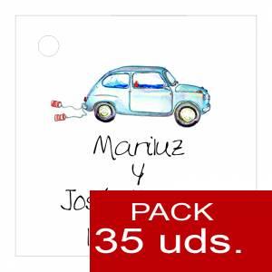 Etiquetas personalizadas - Etiqueta Modelo A07 (Paquete de 35 etiquetas 4x4)