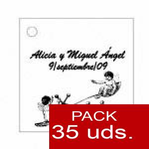 Imagen Etiquetas personalizadas Etiqueta Modelo B15 (Paquete de 35 etiquetas 4x4)
