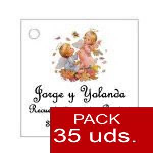 Imagen Etiquetas personalizadas Etiqueta Modelo D24 (Paquete de 35 etiquetas 4x4)