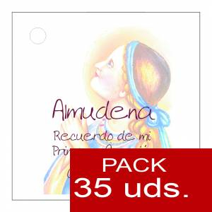 Etiquetas personalizadas - Etiqueta Modelo E14 (Paquete de 35 etiquetas 4x4)