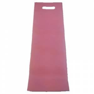 Tamaño 37.5x49.5 con asa - Bolsa de textil no tejido (NON WOVEN) ROSA CLARO 37x15 cm con asa troquelada (ideal para alpargatas o botellas)
