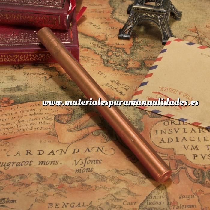 Imagen Barras para PISTOLA Barra Lacre 10mm Flexible pistola COBRE Brillante