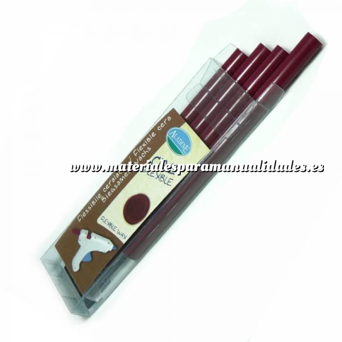Imagen Barras para PISTOLA Barra Lacre 11mm tipo Silicona Burdeos PACK DE 4 para Pistola