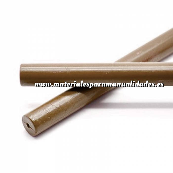 Imagen Barras para PISTOLA Barra Lacre 12mm de Resina MARRÓN para Pistola