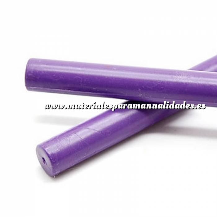 Imagen Barras para PISTOLA Barra Lacre 12mm de Resina VIOLETA para Pistola