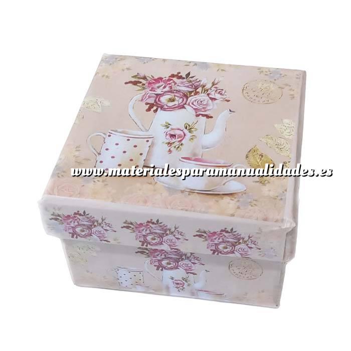 Imagen Cajitas para regalo Cajita rosa vintage 7 x 7 x 4.5 MODELOS SURTIDOS