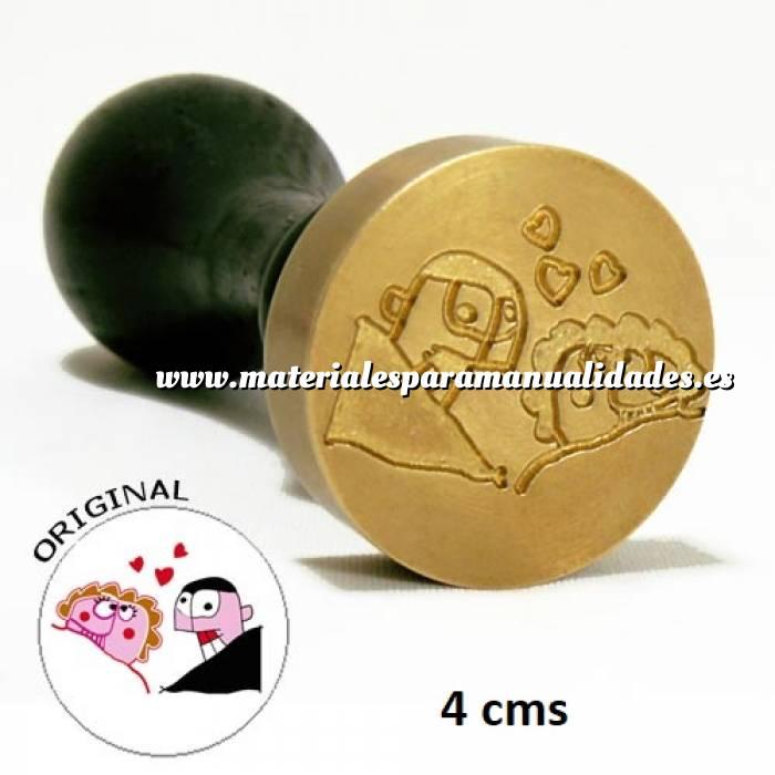 Imagen Con NUESTRO diseño Sello Lacre 4 cms. Personalizado con TU diseño