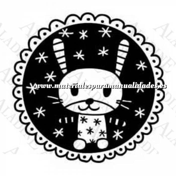 Imagen Diseños inmediatos SELLO MEDALLÓN CONEJO (Últimas Unidades)