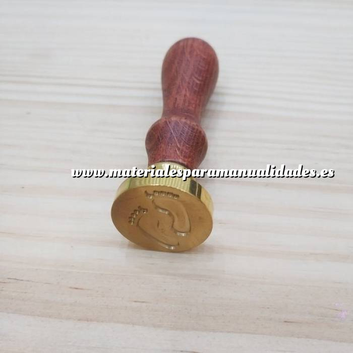 Imagen Diseños inmediatos Sello lacre mango largo - INFANTIL - Pies Bebé (Últimas Unidades)