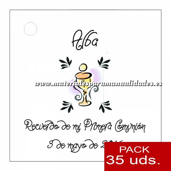 Imagen Etiquetas impresas Etiqueta Modelo B18 (Paquete de 35 etiquetas 4x4)