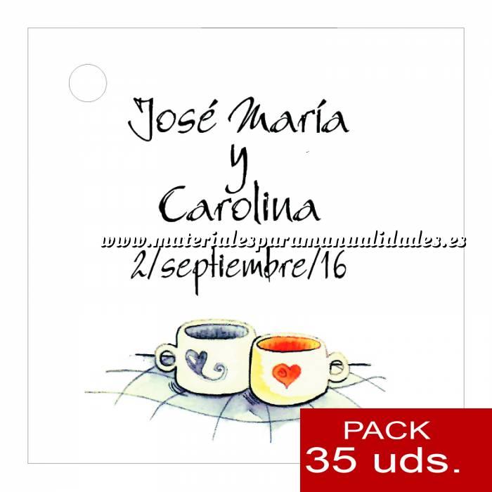 Imagen Etiquetas impresas Etiqueta Modelo C15 (Paquete de 35 etiquetas 4x4)