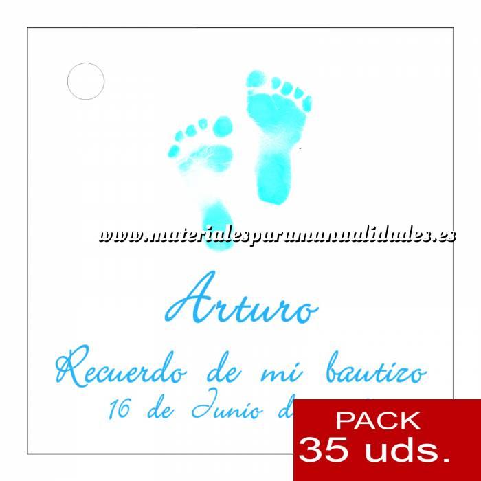 Imagen Etiquetas impresas Etiqueta Modelo D21 (Paquete de 35 etiquetas 4x4)