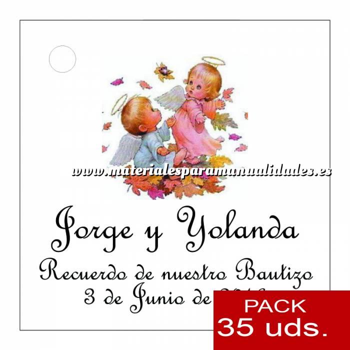 Imagen Etiquetas impresas Etiqueta Modelo D24 (Paquete de 35 etiquetas 4x4)