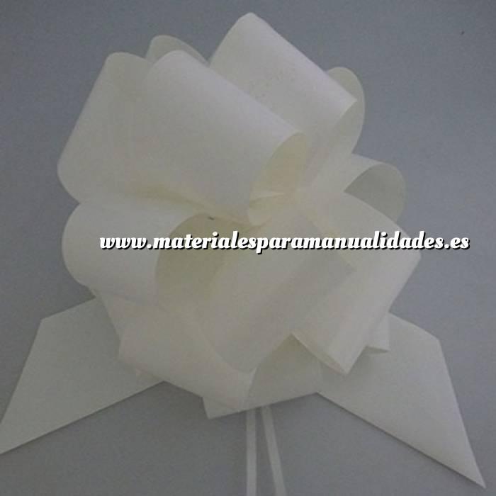 Imagen Lazos Flor-Lazo Decoración Mod 21 (BLANCO) (Últimas Unidades)