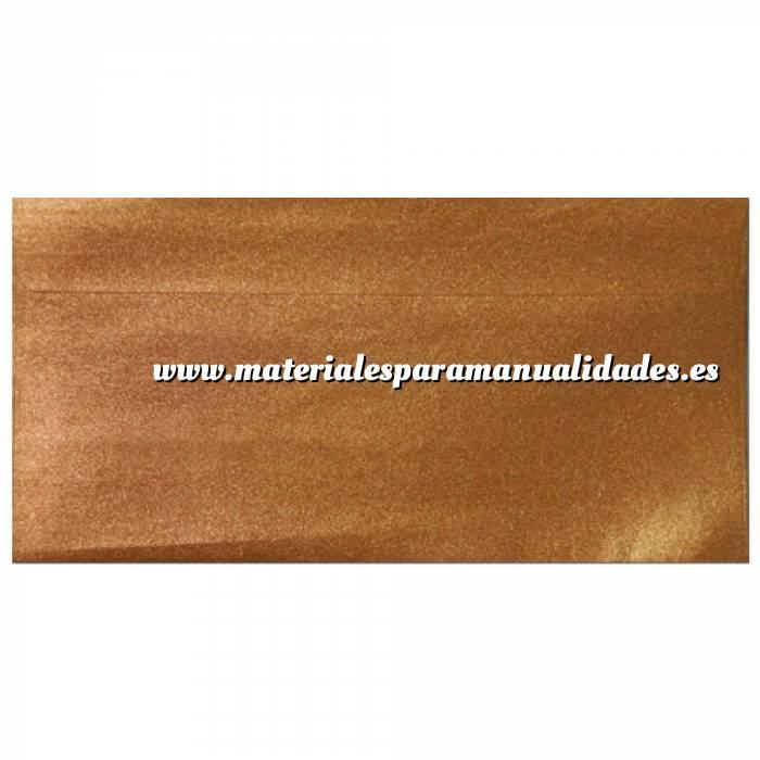 Imagen Sobre Americano DL 110x220 Sobre Perlado Cobre DL