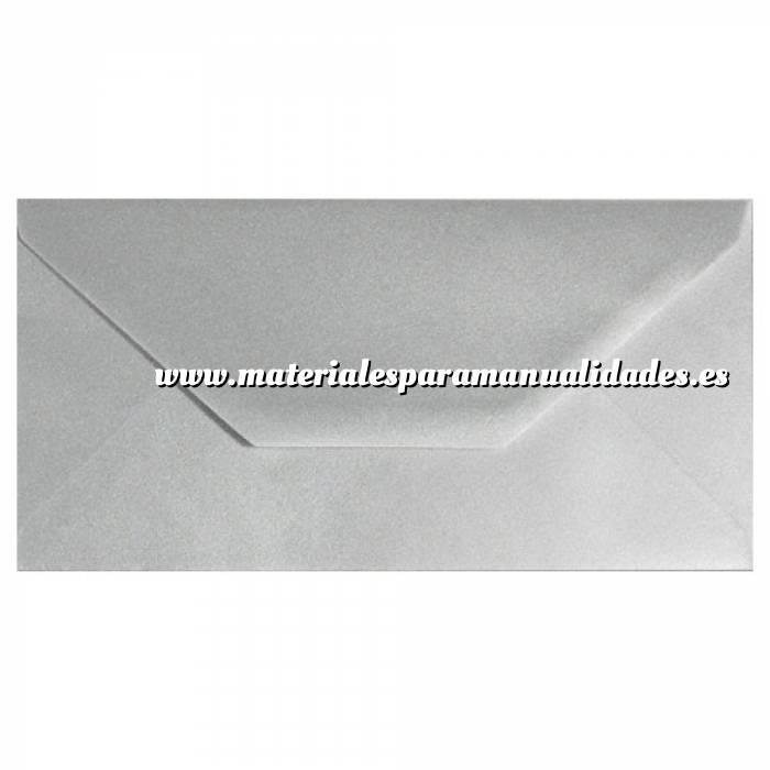 Imagen Sobre Americano DL 110x220 Sobre Plata DL Metálico
