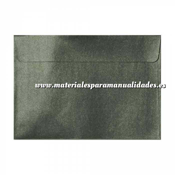 Imagen Sobres C5 - 160x220 Sobre Perlado verde oscuro c5