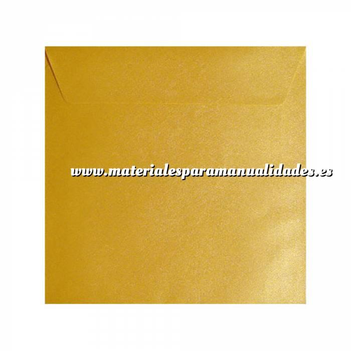 Imagen Sobres Cuadrados Sobre textura amarillo Cuadrado