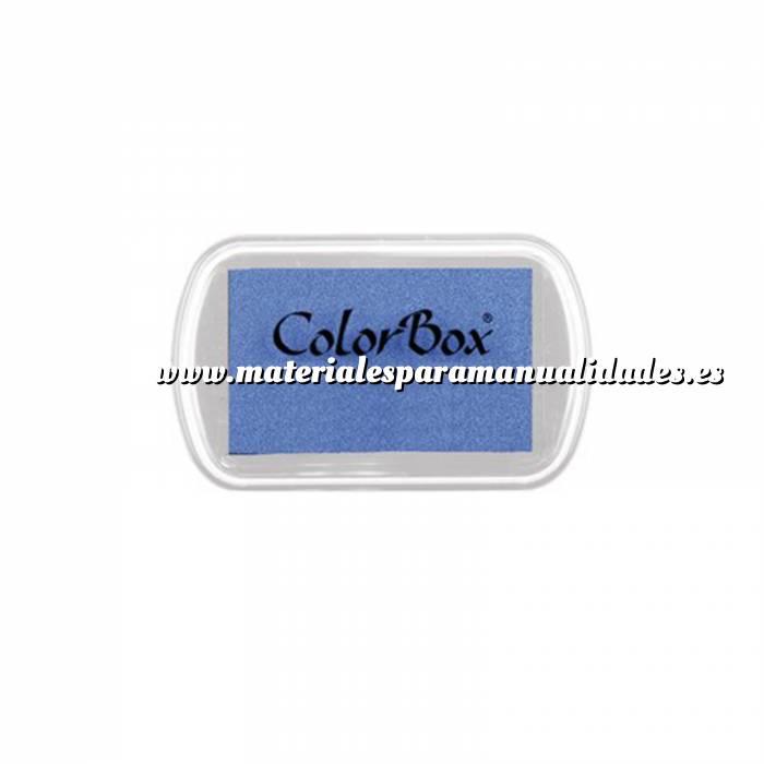 Imagen Tipos de TINTAS MINI TAMPON COLORBOX CELESTE (Últimas Unidades)