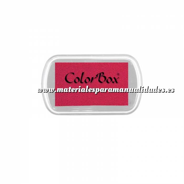 Imagen Tipos de TINTAS MINI TAMPON COLORBOX ROJO MAGENTA (Últimas Unidades)
