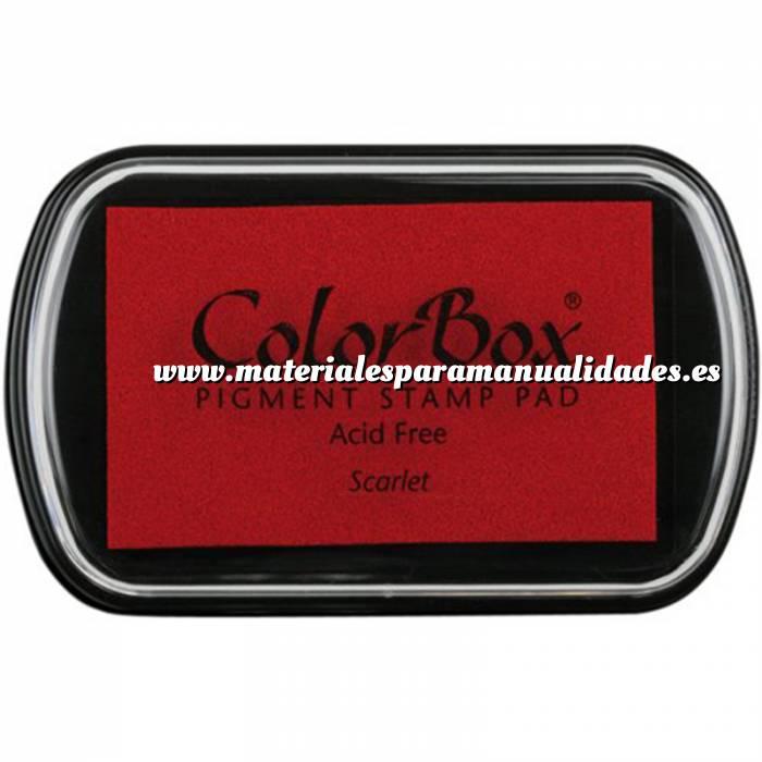 Imagen Tipos de TINTAS TAMPON COLORBOX STD ESCARLATA (Últimas Unidades)