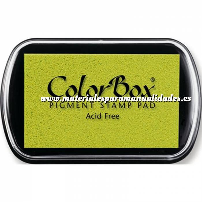 Imagen Tipos de TINTAS TAMPON COLORBOX STD PISTACHO (Últimas Unidades)