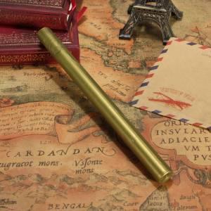 Barras para PISTOLA - Barra Lacre 10mm Flexible Pistola DORADO VERDOSO Brillante (Últimas Unidades)