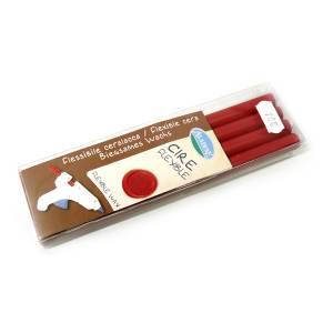 Barras para PISTOLA - Barra Lacre 11mm tipo Silicona Rojo PACK DE 4 para Pistola