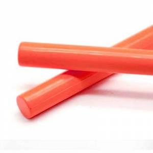 Barras para PISTOLA - Barra Lacre 12mm de Resina color TEJA para Pistola