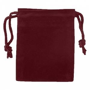 Imagen Bolsa de Antelina 9X12 Bolsa de Antelina Burdeos 9x12 capacidad 9x9 cms