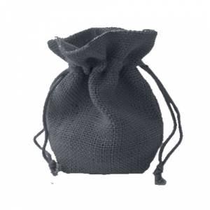 Imagen Bolsas de Yute 10x14 cm Bolsa de Yute Gris 10x14 capacidad 9x11 cms.