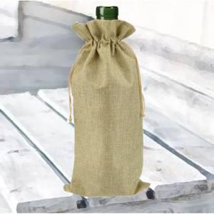 Bolsas de Yute 16x36 cm - Bolsa de Yute Natural TONO CLARO 16x36 capacidad 15x31 cms. (Últimas Unidades)