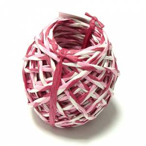 Cintas Decorativas - Rafia Trenzada Rosa 15 m (3 mm)