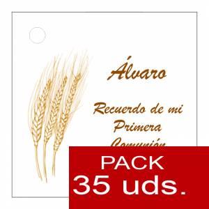 Etiquetas impresas - Etiqueta Modelo A23 (Paquete de 35 etiquetas 4x4)