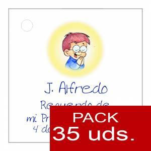 Etiquetas impresas - Etiqueta Modelo E18 (Paquete de 35 etiquetas 4x4)