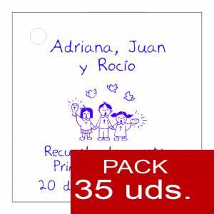 Etiquetas impresas - Etiqueta Modelo E19 (Paquete de 35 etiquetas 4x4)