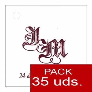 Etiquetas impresas - Etiqueta Modelo F11 (Paquete de 35 etiquetas 4x4)