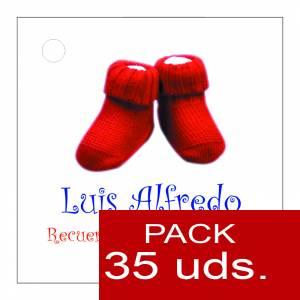 Etiquetas impresas - Etiqueta Modelo F13 (Paquete de 35 etiquetas 4x4)