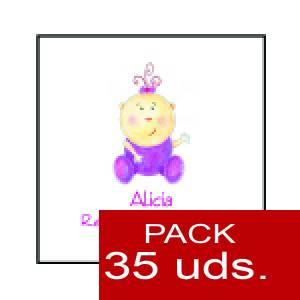 Imagen Etiquetas impresas Etiqueta Modelo F15 (Paquete de 35 etiquetas 4x4)