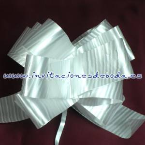 Lazos - Flor-Lazo Decoraci�n Mod 09 (BLANCO) (�ltimas Unidades)