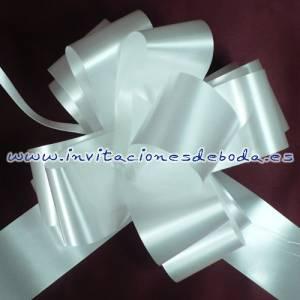 Lazos - Flor-Lazo Decoraci�n Mod 10 (BLANCO) (�ltimas Unidades)