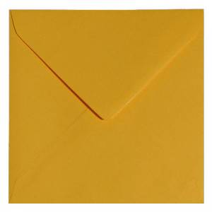 Sobres Cuadrados - Sobre naranja suave Cuadrado