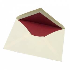 Sobres Forrados - Sobre 14x9 forrado rojo