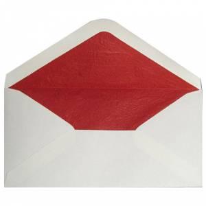 Sobres Forrados - Sobre Beige DL forro fantasía rojo (Últimas Unidades)